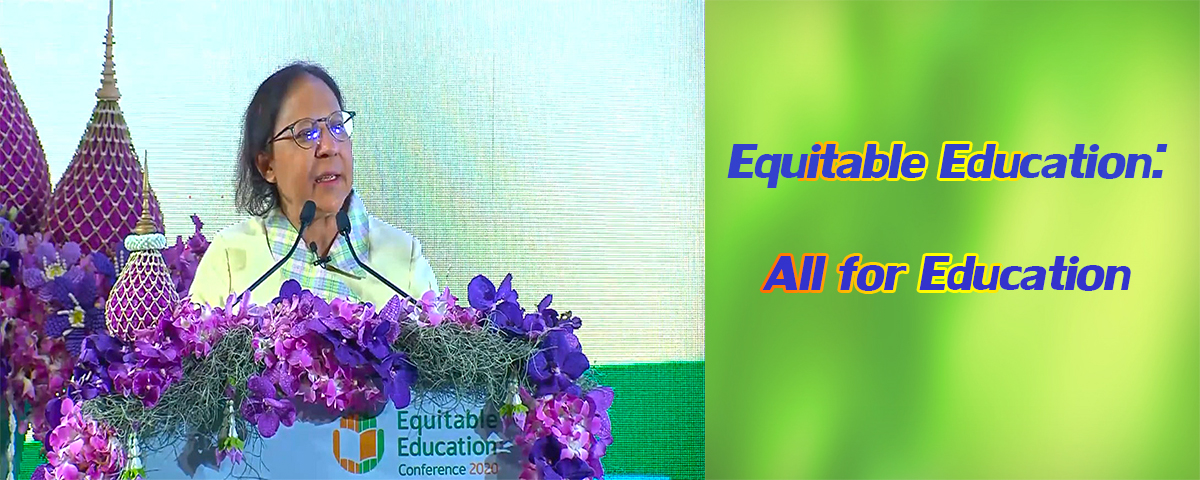 Equitable Education All for Education 13 7 2563