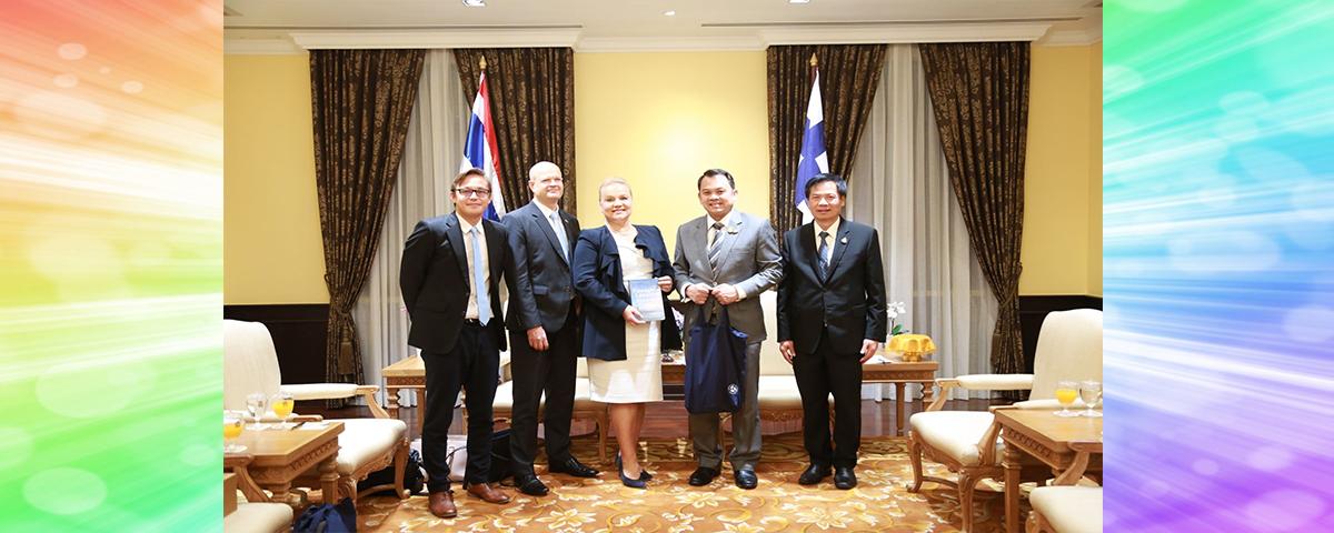 ความร่วมมือด้านการศึกษากับเอกอัครราชทูตแห่งสาธารณรัฐฟินแลนด์ประจำประเทศไทย